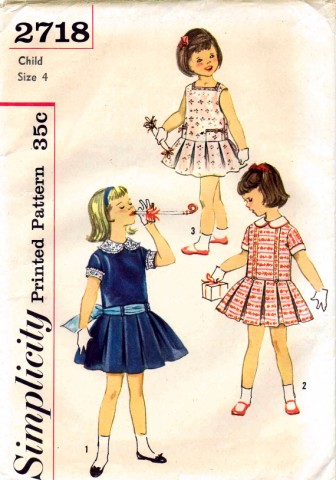 Simplicity 1958 2718