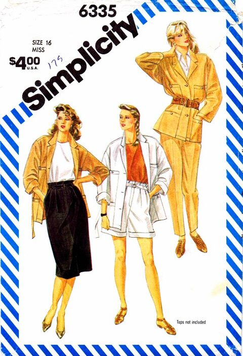 Simplicity 1984 6335