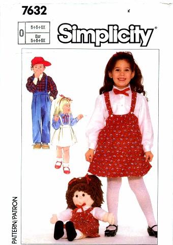 Simplicity 1986 7632