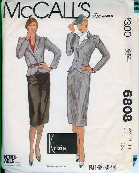 W-6808M 1979 Krizia-Suit