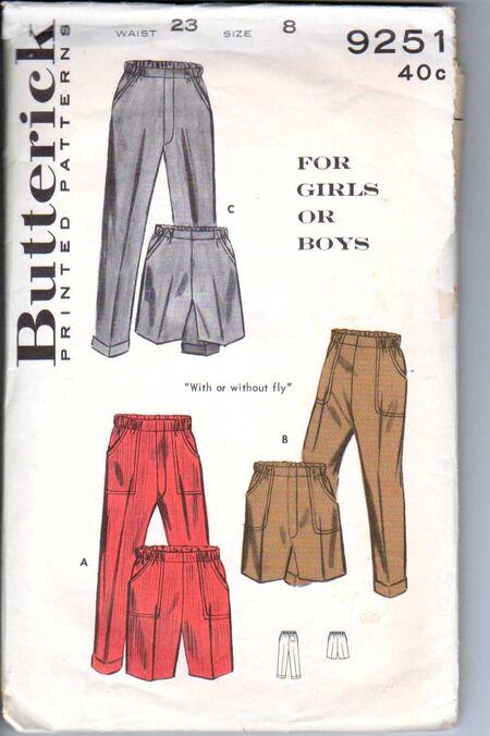 Butterick 9251 Size 8