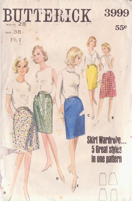Butterick 3999 A image