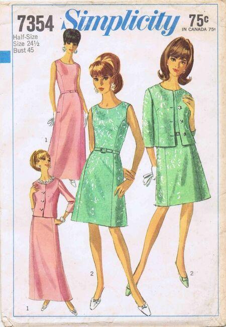 Simplicity 1967 7354