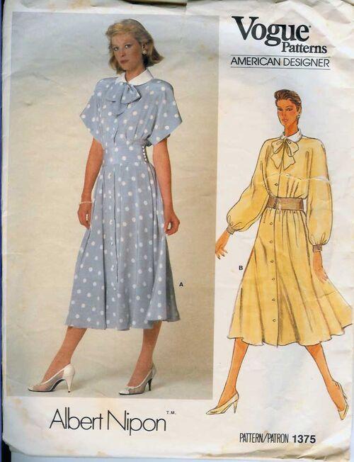 W-1375V 1985 ANipon-Dress