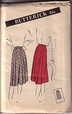 Butterick 3603 cover