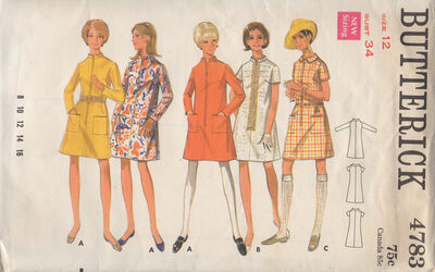 Butterick 4783 A image