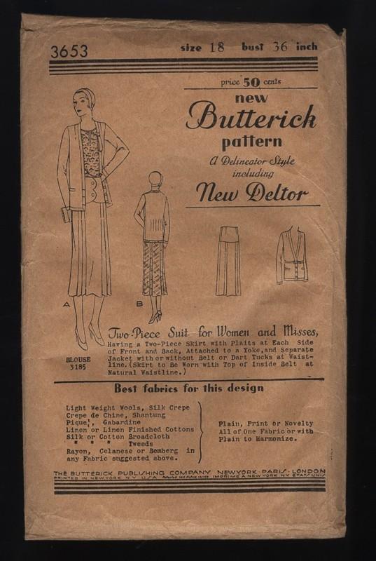 Butterick 3653