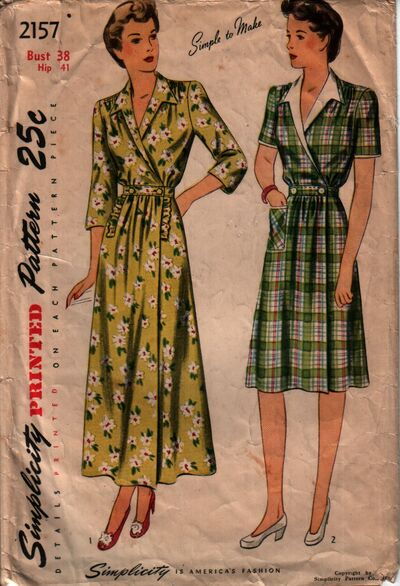 Simplicity 2157 front