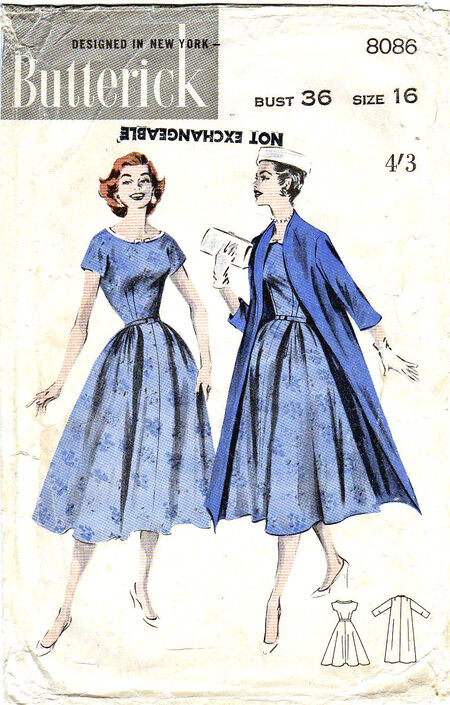 Pattern - Butterick 8086