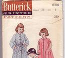 Butterick 6791