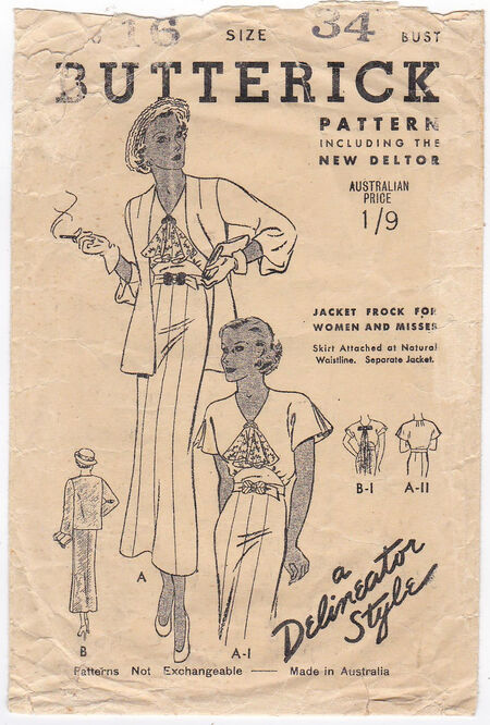 Pattern - Butterick 5738 02