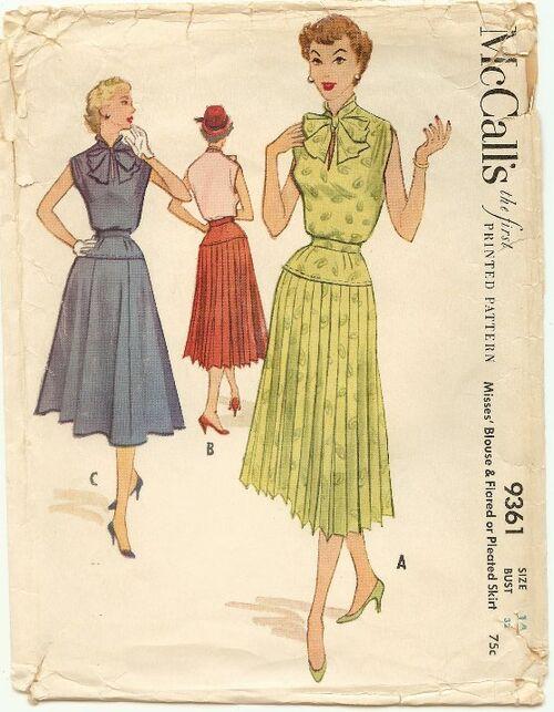 Pattern mccalls 9361