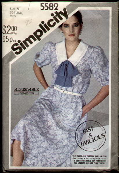 Simplicity 5582 82 a