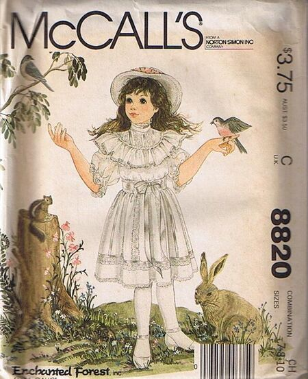 McCall's 8820