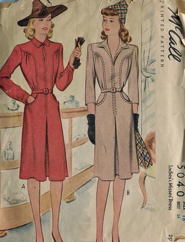 McCall 5040 yr 1942