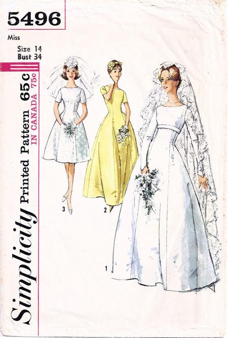 1964 Simplicity Bride