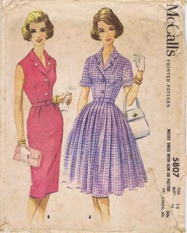 McCalls 1961 5807
