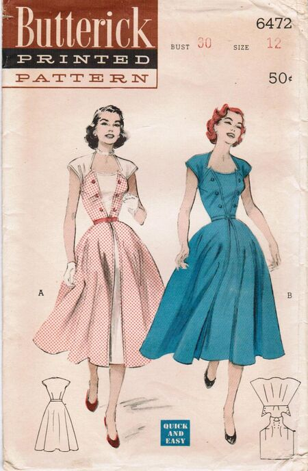 Butterick 6472 image