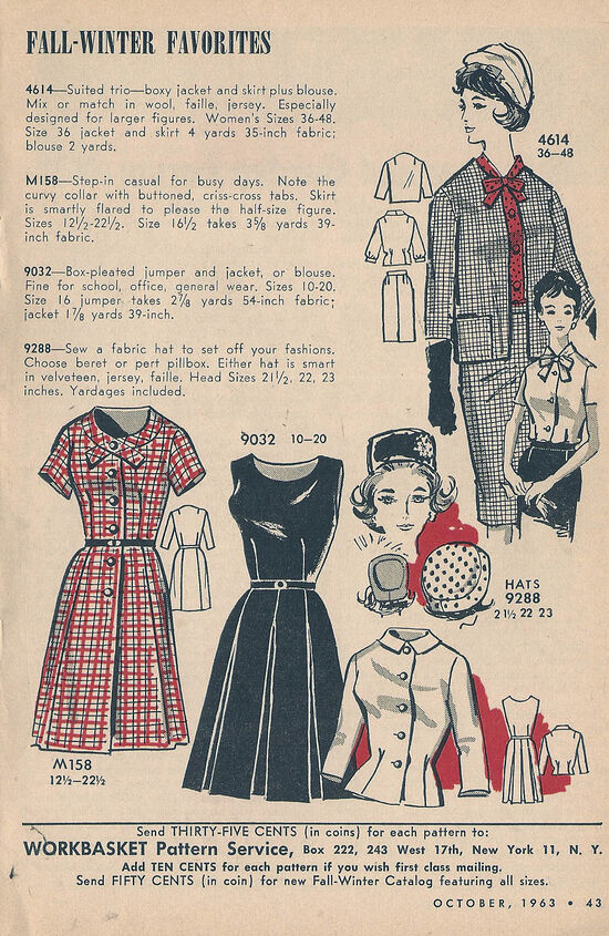 Mail Order Dresses October 1963-a
