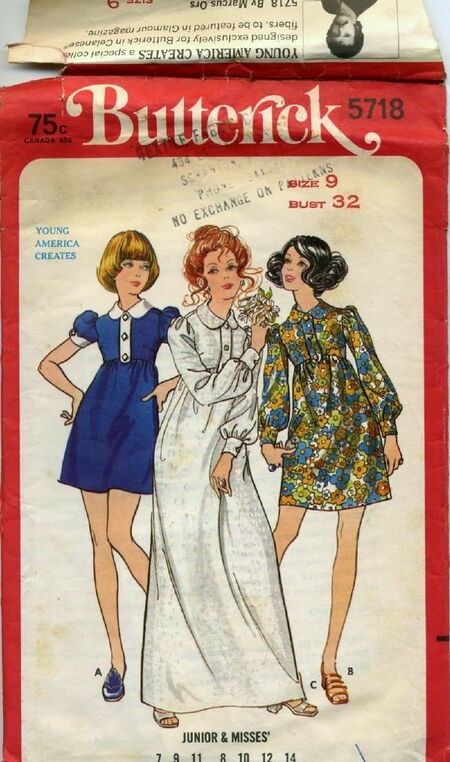 Butterick 5718 image