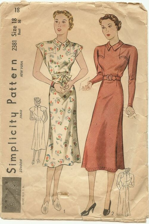 Pattern simplicity 2381a