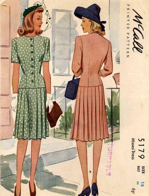 M-5179 40s dress029 copy