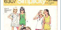 Simplicity 6307 A