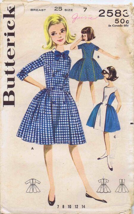 Butterick 1963 2583