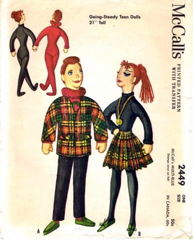 McCalls 1961 2449