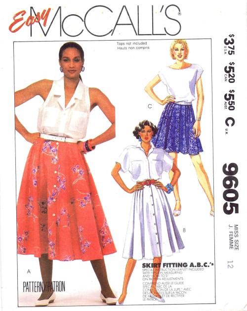 McCalls 1985 9605