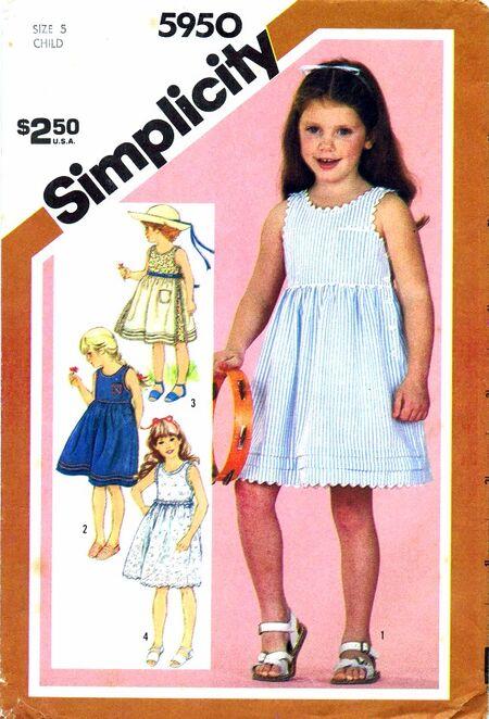 Simplicity 1983 5950