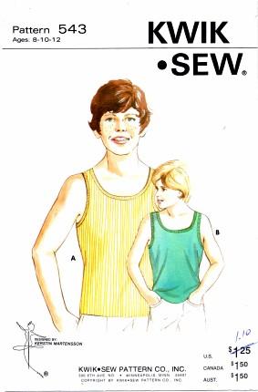 Kwik Sew 543