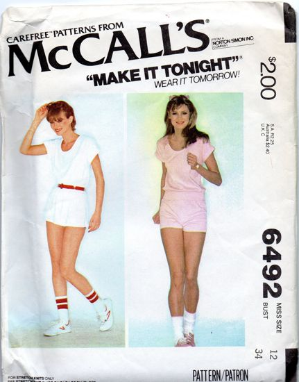 McCall's 6492