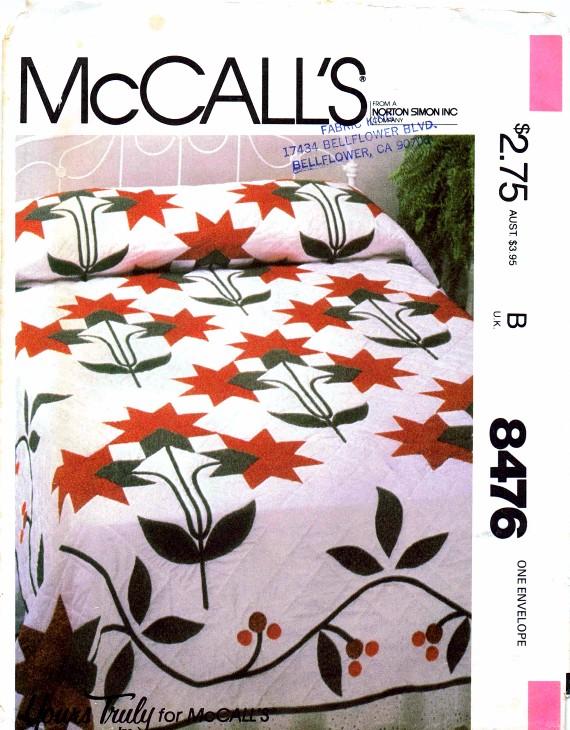 McCalls 1982 8476