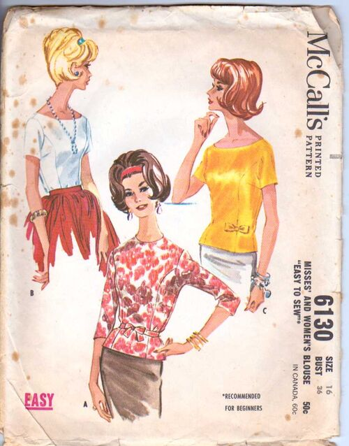 McCall's 6130 Size 16