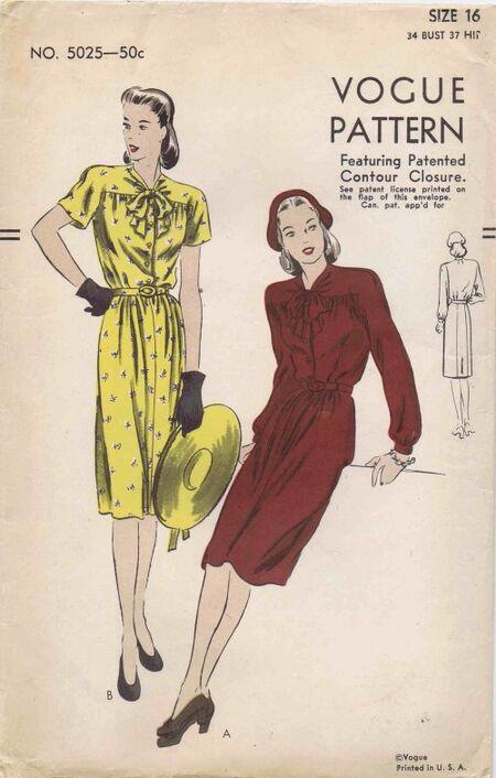 Vogue 1945 5025