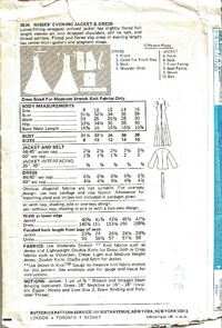 Butterick 3836 env