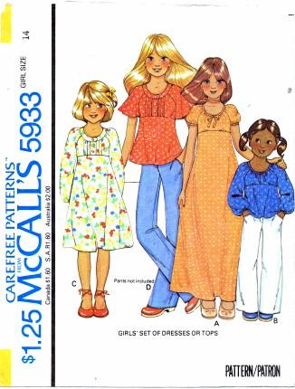 McCalls 1978 5933