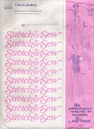 Stretch & Sew 1040 image