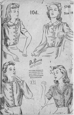 DuBarry 5743 - B&W