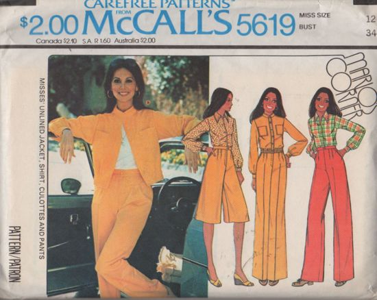McCalls 5619