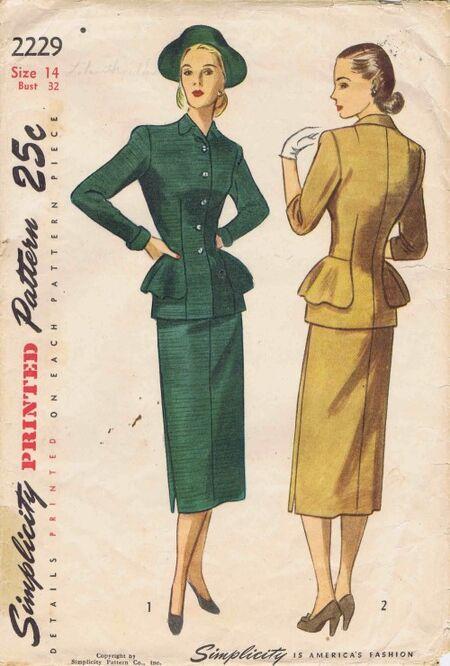 Simplicity 1947 2229