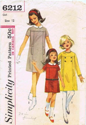 Simplicity 1965 6212