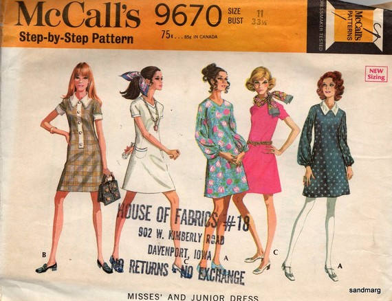 McCall`s 9670