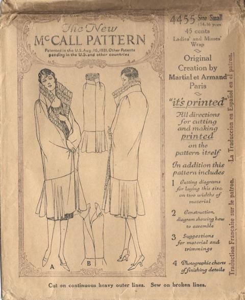 Mccall4455A