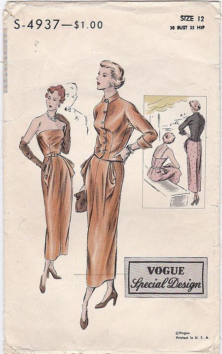 Pattern - Vogue 4937 02