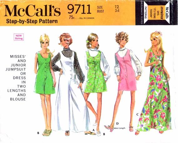 McCalls 1969 9711