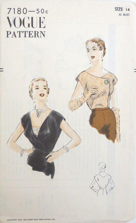 Vogue 7180 yr 1950