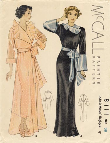 McCall 8111 A | Vintage Sewing Patterns | Fandom powered ...