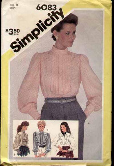 Simplicity 6083 a 83